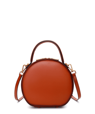 Leather Crossbody Bag - Olivera