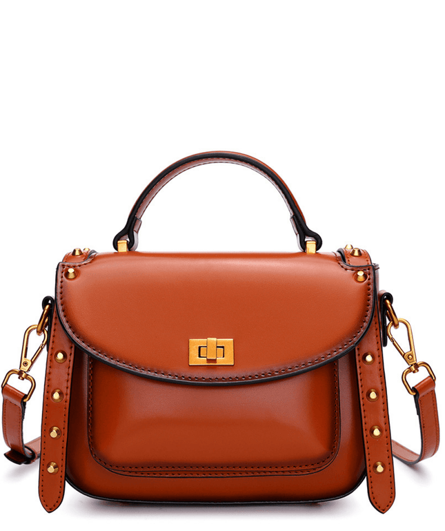 Leather Crossbody Bag - Arden