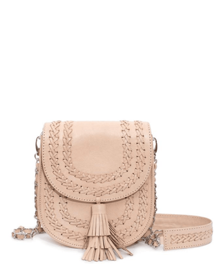 Leather Crossbody Bag - Vera