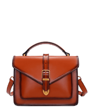 Leather Crossbody Bag - Rae