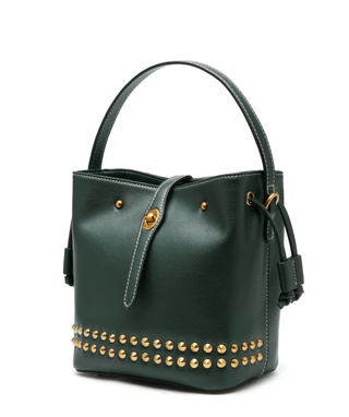 Leather Crossbody Bag - Clora