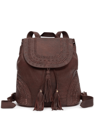 Leather Backpack - Harper
