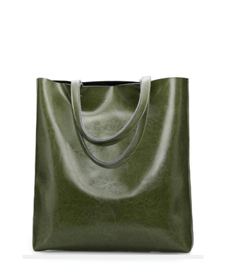 Leather Tote Bag - Kari