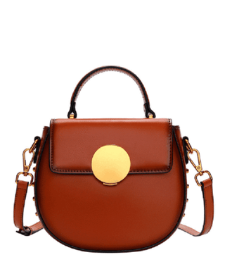 Leather Crossbody Bag - Cara