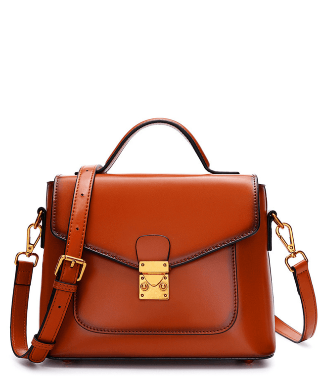 Leather Crossbody Bag - Joy