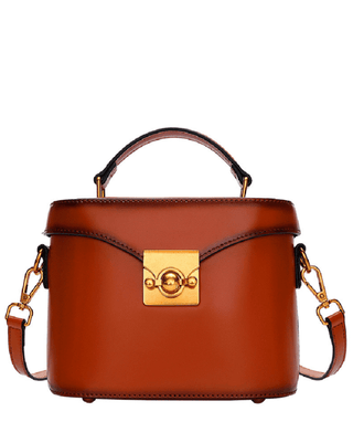 Leather Crossbody Bag - Dana