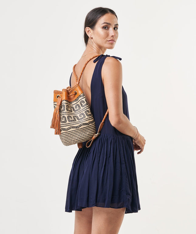 Rattan Backpack (Small) - Shay