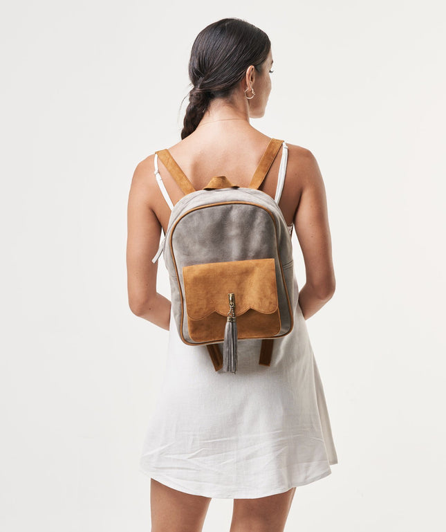 Leather Backpack - Mela