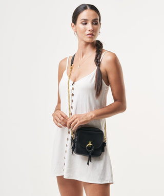 Leather Crossbody - Nayra