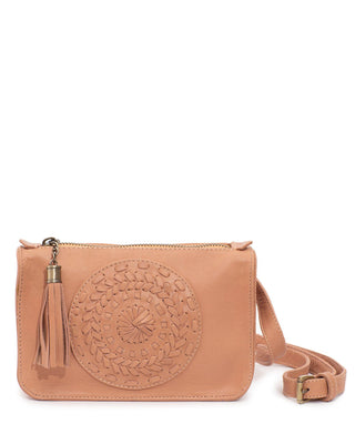 Leather Crossbody Bag - Tiana