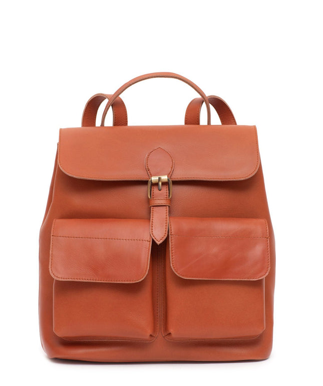 Leather Backpack - Zaha