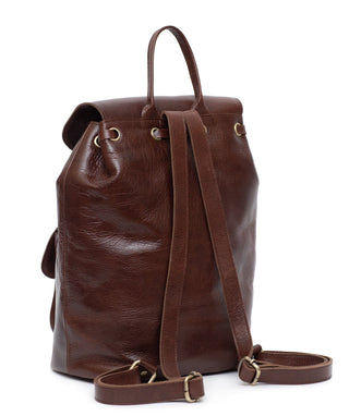Leather Backpack - Amalie