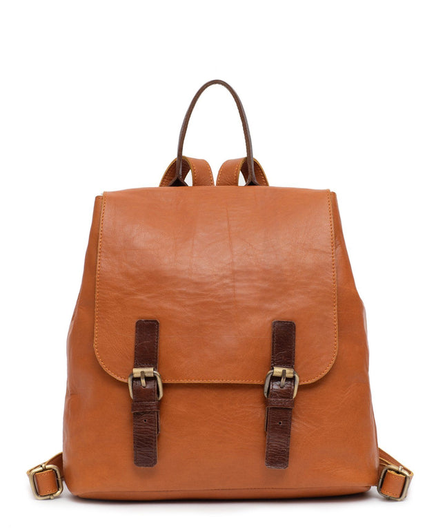 Leather Backpack - Avena