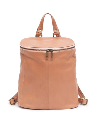 Leather Backpack - Leanna