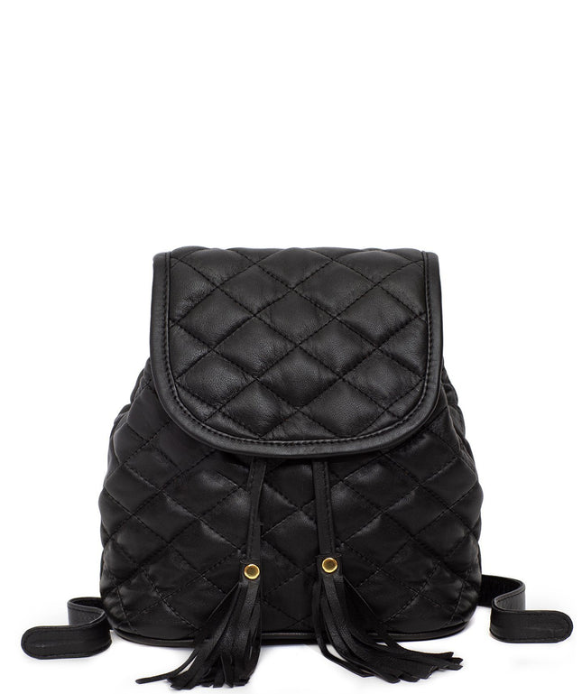 Leather Backpack - Tami