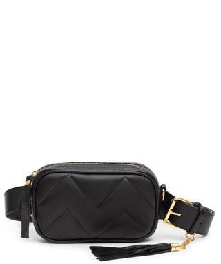 Leather Belt Bag - Star