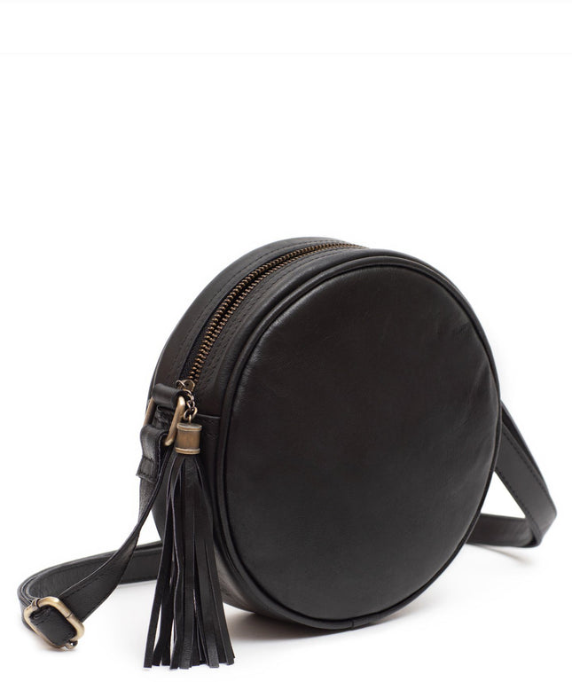 Leather Crossbody Bag - Moone