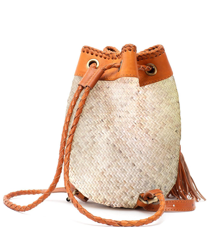 Rattan Backpack (Small) - Indah