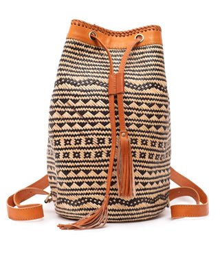 Rattan Backpack (Large) - Eartha