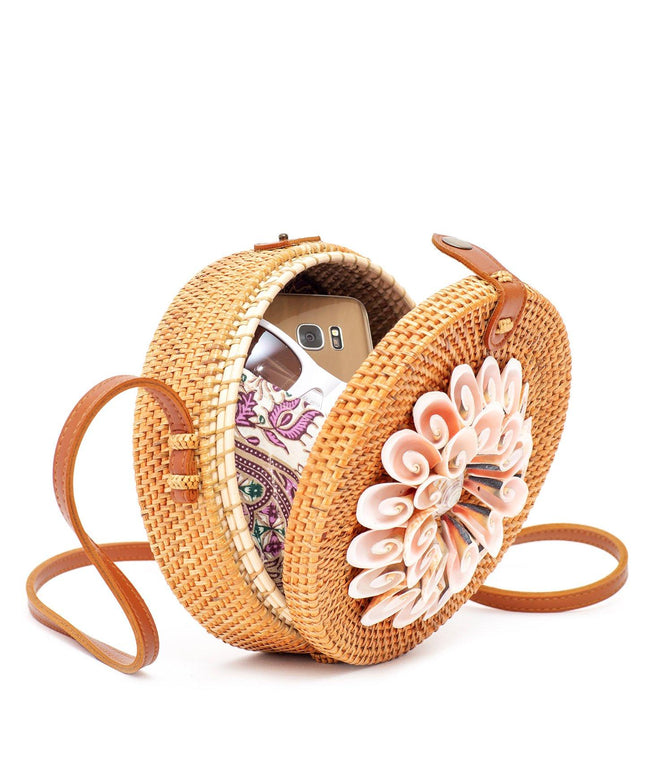 Ata Bag with Real Seashells - Kaya
