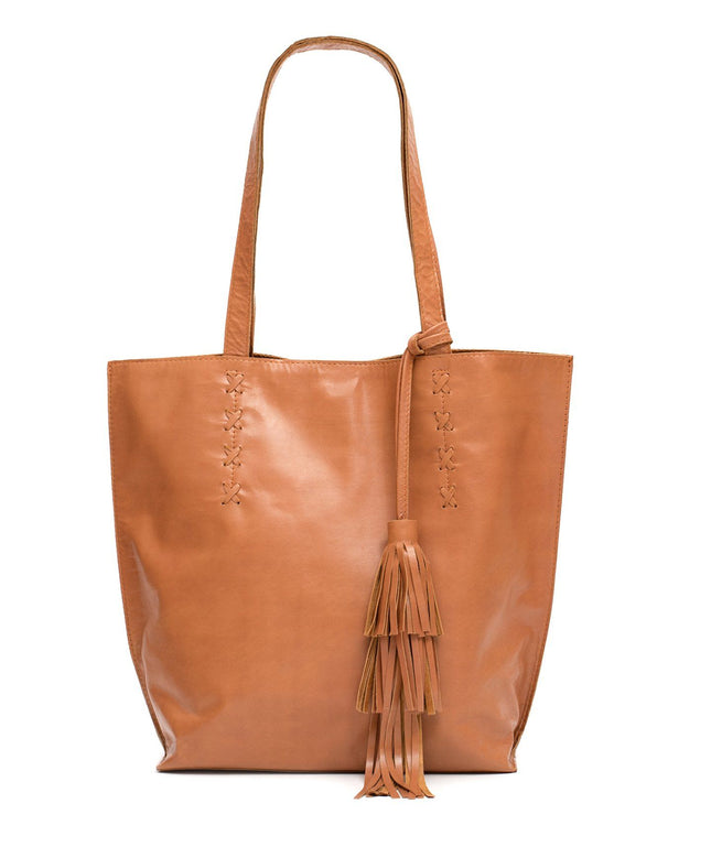 Leather Tote Bag -Tess