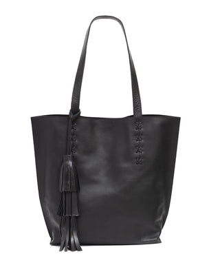 Leather Tote Bag - Tess