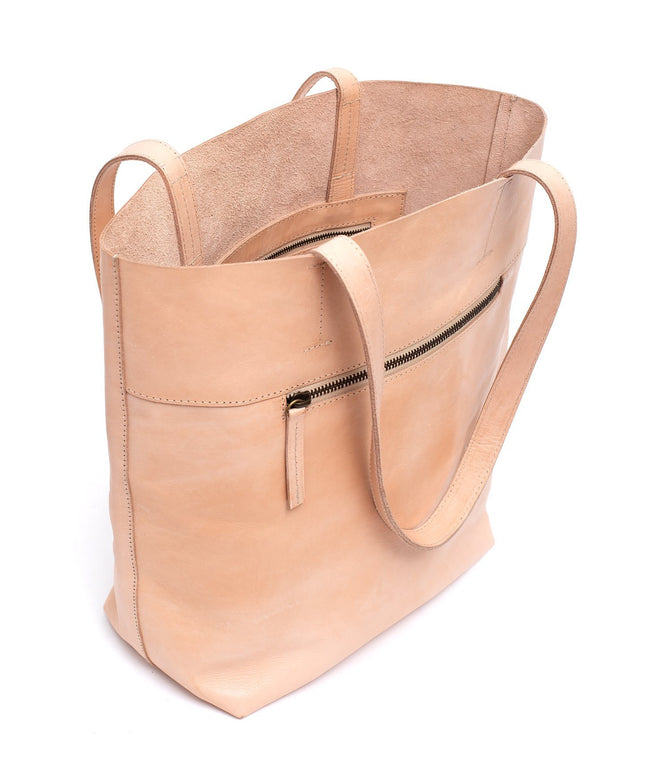 Leather Tote Bag - Callie