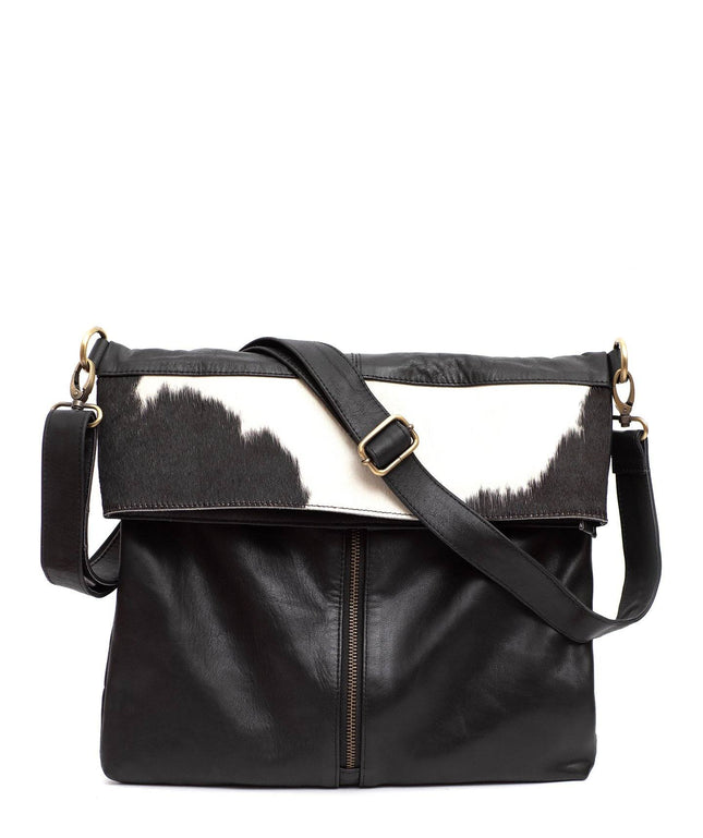 Leather Messenger Bag - Netta