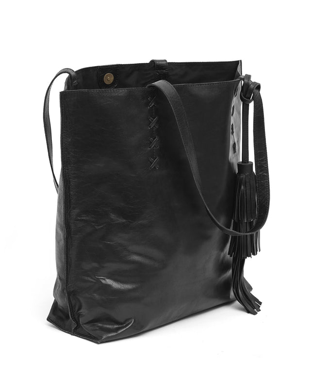 Leather Tote Bag - Amie