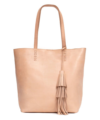 Leather Tote Bag - Malibu
