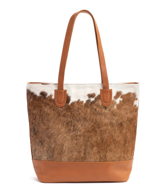 Leather Tote Bag - Lona