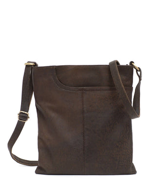 Leather Messenger Bag - Selena