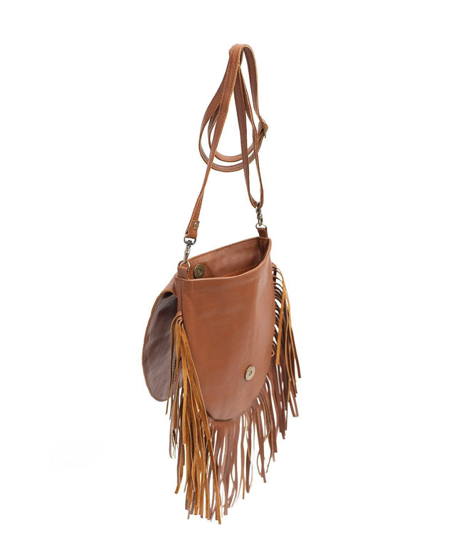 Leather Crossbody Bag - Mae