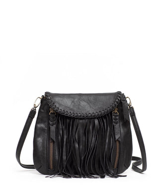 Leather Crossbody Bag - Diya
