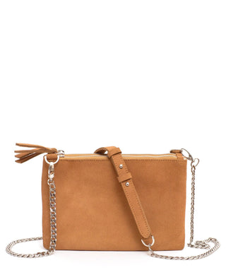 Leather Crossbody Clutch - Mabel