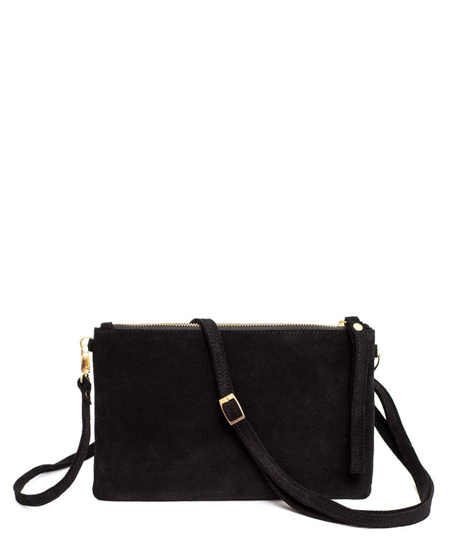 Leather Crossbody Clutch - Nina