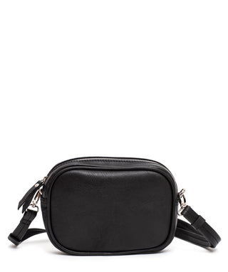 Leather Crossbody Bag - Mila