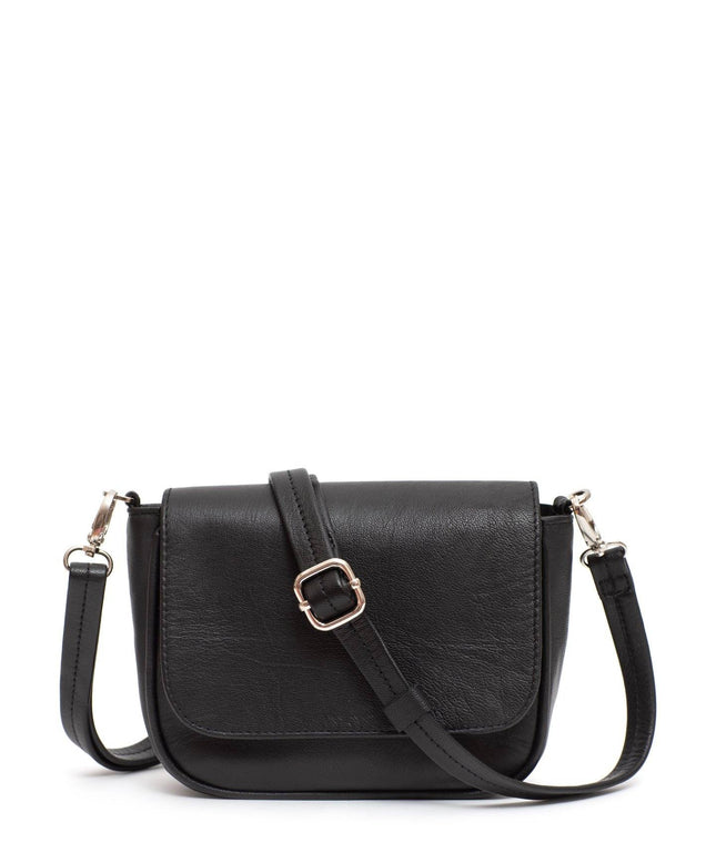 Leather Crossbody Bag - Harlow