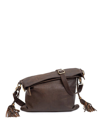 Leather Messenger Bag - Isla