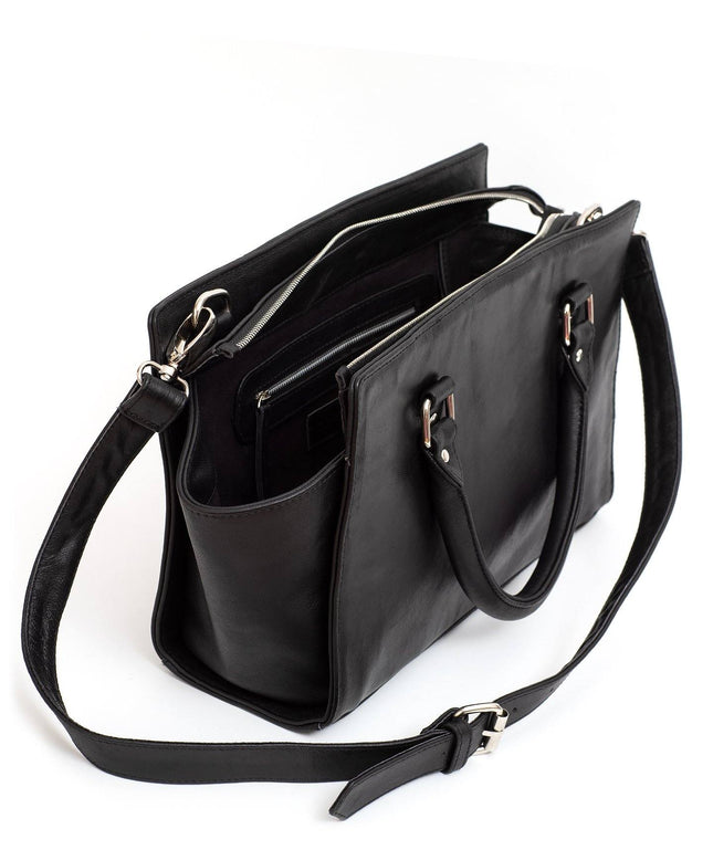 Leather Tote Bag - Lucia