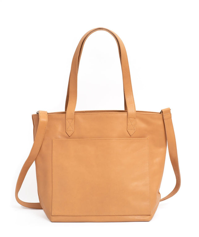 Leather Tote Bag - Rheba