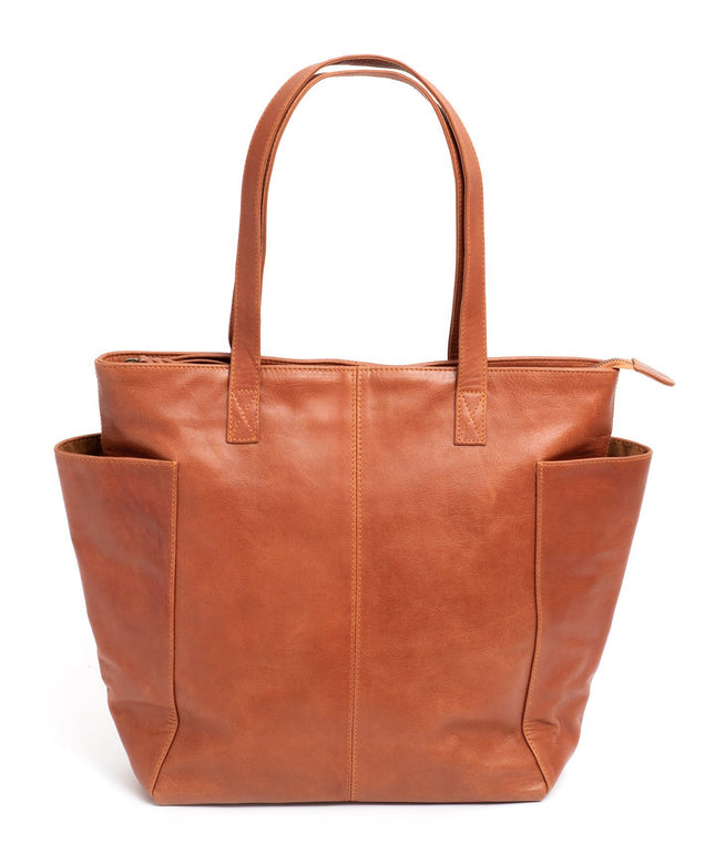 Leather Tote Bag - Frida