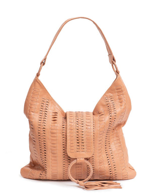 Leather Tote Bag - Rubi