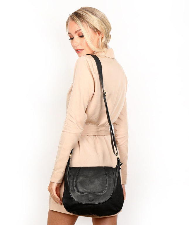 Leather Crossbody Bag - Parker