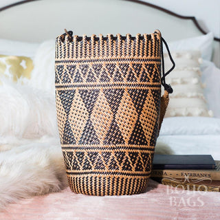 Rattan Backpack - Tribal Delight