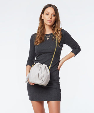 Leather Crossbody - Baez