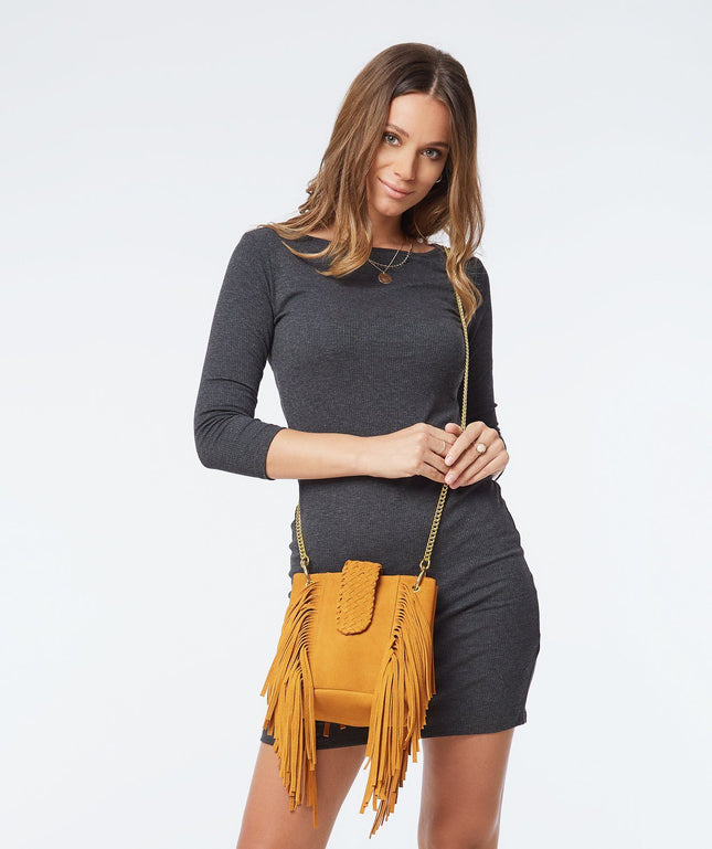 Leather Crossbody - Nomad