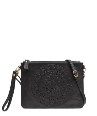 Leather Crossbody Clutch - Evie