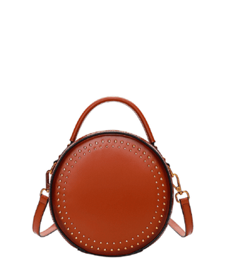 Leather Crossbody Bag - Gina