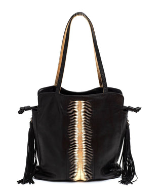 Leather Hobo Bag - Camila